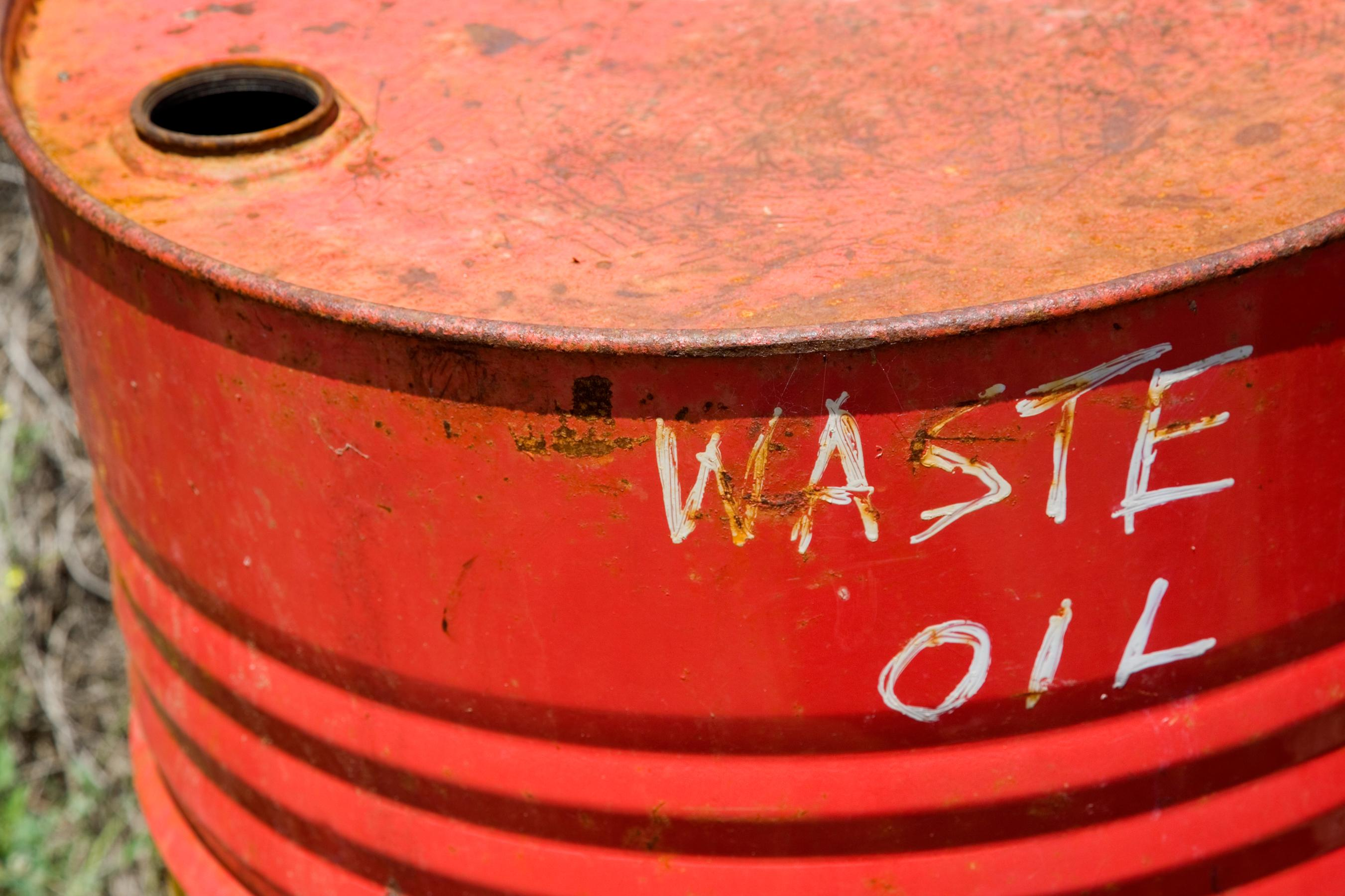 Waste Oil Barrel1 Hendricks County Solid Waste